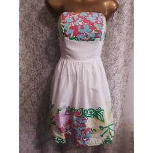 Lilly Pulitzer LOTTIE Floral Dress 2
